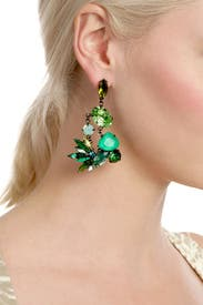 Tropical Punch Earrings by Erickson Beamon