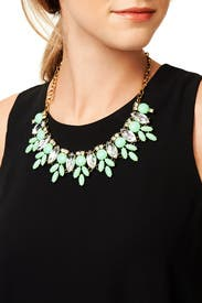 On the Lily Pad Necklace by Slate & Willow Accessories