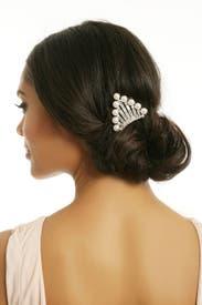 Baguette Bridal Comb by Ben-Amun
