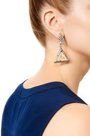 Winged Prism Earrings by Lulu Frost
