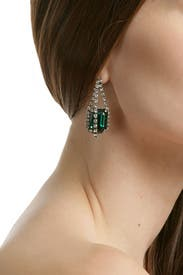 Treasured Green Earrings by Janis Savitt