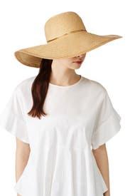Straw Floppy Hat by Echo Accessories