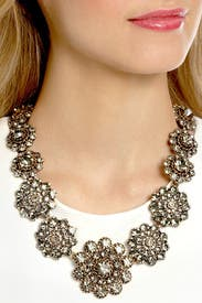 Baroque Bejeweled Necklace by Oscar de la Renta