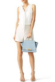 Blue Eartha Handbag by ZAC Zac Posen Handbags