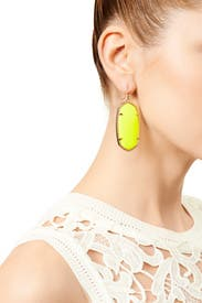 Blazing Yellow Danielle Earrings by Kendra Scott