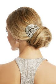 Deco Bridal Comb by Ben-Amun