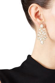 Gold Aurilla Earrings by Kendra Scott