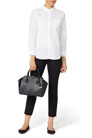 Black Mini Perry Satchel by Rebecca Minkoff Handbags