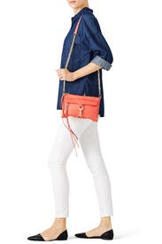 Coral Mini Mac Bag by Rebecca Minkoff Handbags