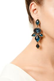 Nightshade Earrings by Oscar de la Renta