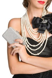 Gimmie A Beat Clutch by Judith Leiber
