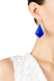 Cobalt Alexandra Earrings by Kendra Scott