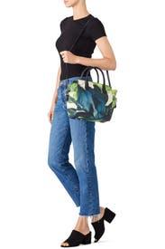 Floral Mini Atlantique Handbag by Reed Krakoff