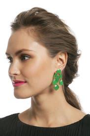 Viridian Statement Earrings by kate spade new york accessories