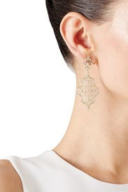 Gold Renee Earrings by Kendra Scott