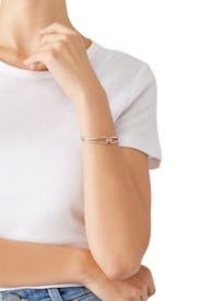Silver Lug Cuff by Shinola