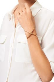 Windrose Pave Cuff by Elizabeth and James Accessories