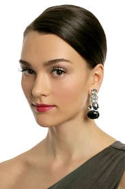 Galactic Glam Earrings by Kenneth Jay Lane