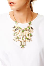 Tropical Jungle Statement Necklace by kate spade new york accessories