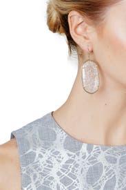 Danielle Crackle Earrings by Kendra Scott