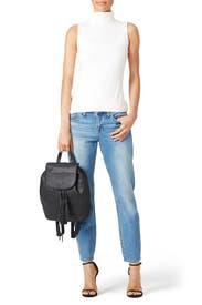 Black Moto Backpack by Rebecca Minkoff Handbags