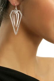 Diamond Dagger Earrings by Alexis Bittar