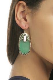 Deva Emerald Earrings by Kendra Scott