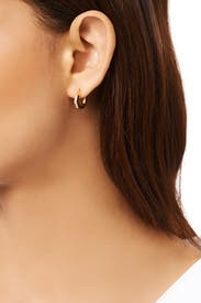 Victoria Hoop Earrings by Elizabeth and James Accessories
