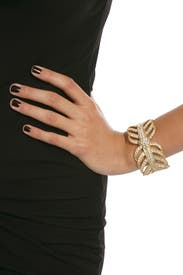 Gold Drift Cuff by Lulu Frost