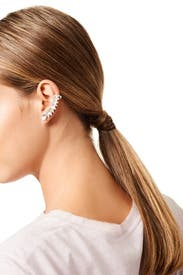 Feathered Ear Cuff by Jules Smith