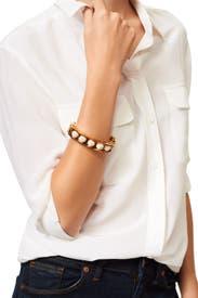 Pave Slider Bracelet by Lele Sadoughi