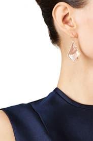 Rose Gold Alex Earrings by Kendra Scott