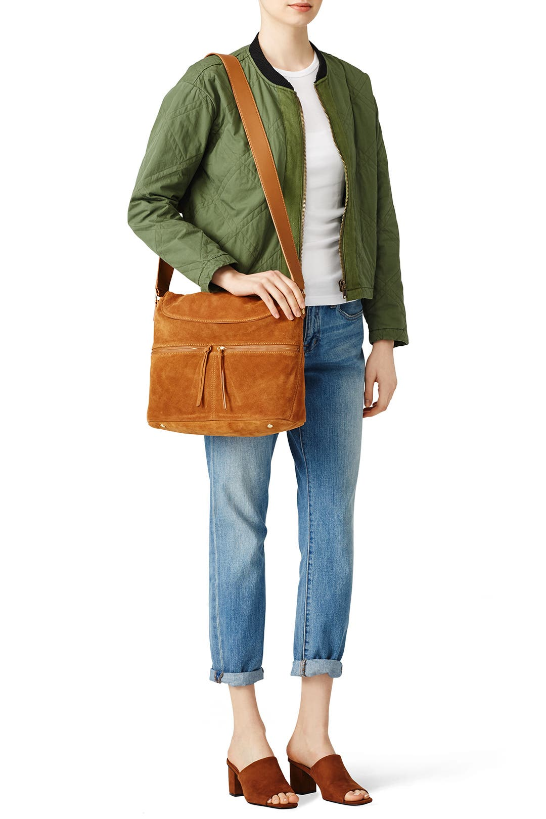 5eac199f9872 Dune Suede James Crossbody Hobo by Elizabeth and James Accessories for  95