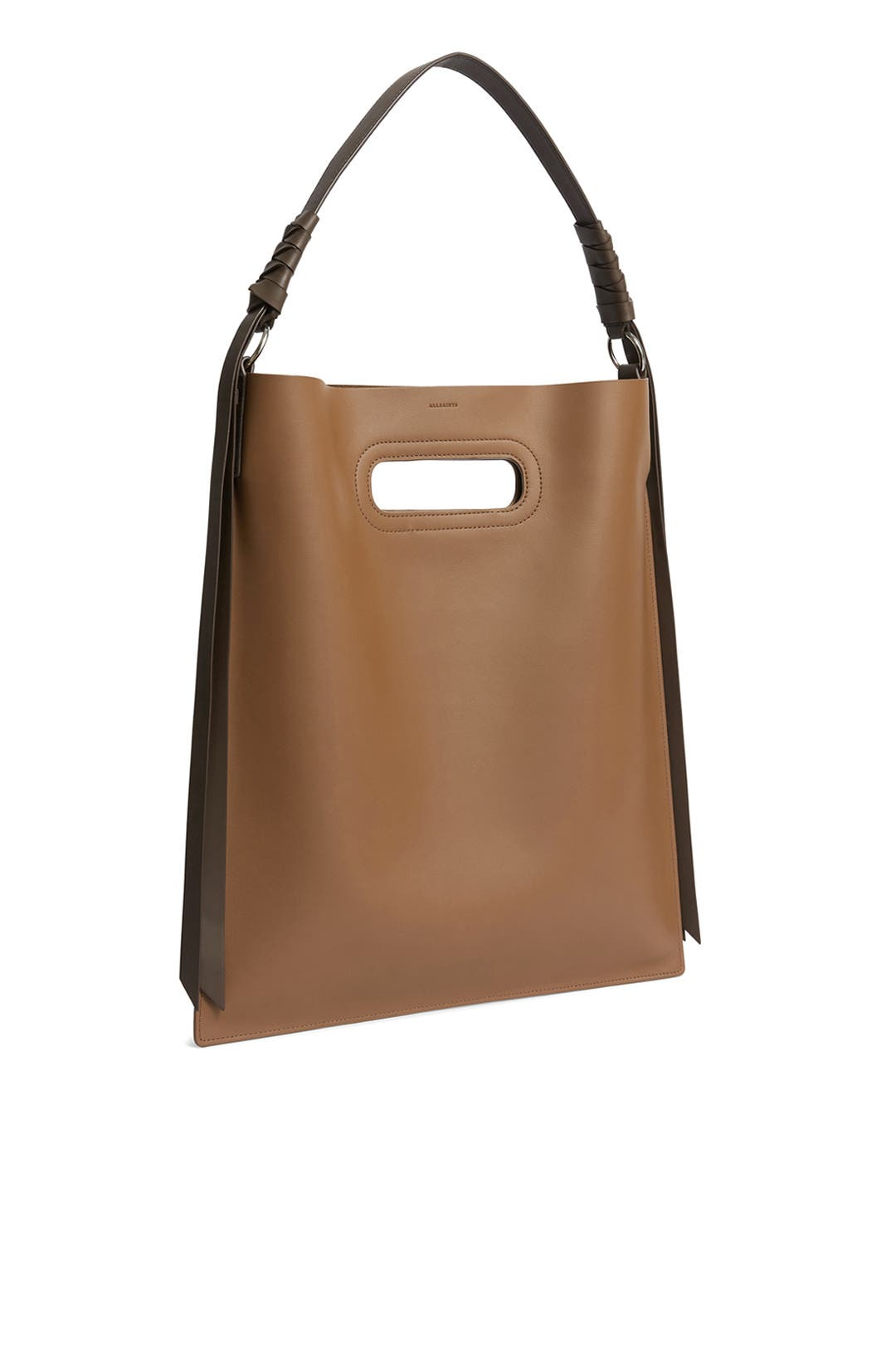 689be34156 AllSaints. Read Reviews. Brown Voltaire Hobo Bag