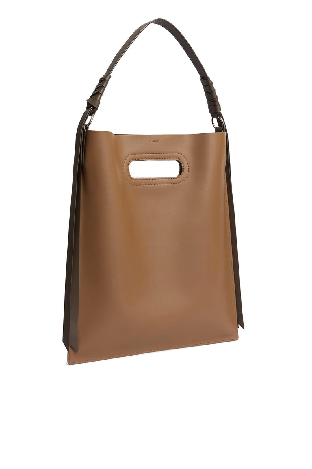 b93822e643a8 AllSaints. Read Reviews. Brown Voltaire Hobo Bag