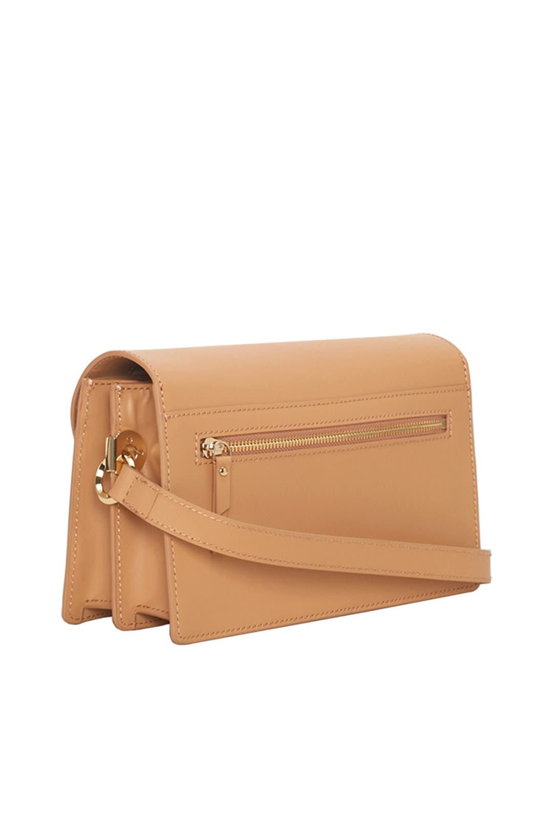 3b913050d443b Tan Large Ring Clutch by Liebeskind for  40