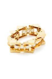 Pearl Satellite Bracelet by Lele Sadoughi