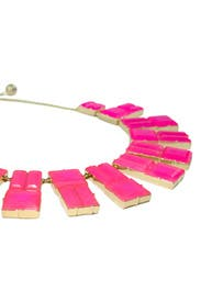 Pink Hot Chip Statement Necklace by kate spade new york accessories