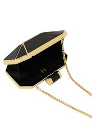 Ebony Prism Clutch by Halston Heritage Handbags