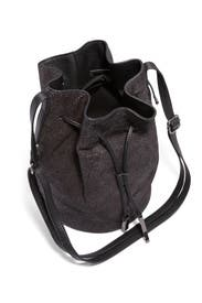 Black Stingray Bucket Bag by Halston Heritage Handbags