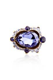 Aragon Amethyst Ring by Oscar de la Renta