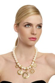 Vintage Givenchy Pearl Statement Necklace by Decades Vintage