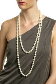 Pearl Rope Necklace by Kenneth Jay Lane