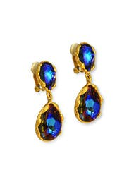Northern Lights Drop Earrings by Oscar de la Renta