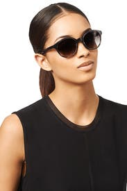 Black Madison Sunglasses by Elizabeth and James Accessories