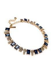 Blue Shadow Necklace by Oscar de la Renta