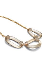 Silver Lining Link Necklace by Alexis Bittar
