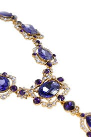 Aragon Amethyst Necklace by Oscar de la Renta