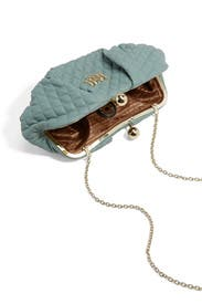 Tropic quilted clutch by Love Moschino Accessories