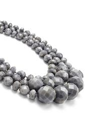 Grey Swirl Triple Row Necklace by kate spade new york accessories